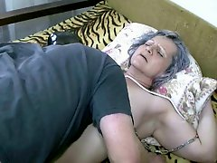 Licking Grannie's Pussy Video 1