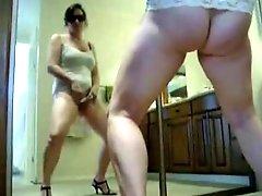 Nice Stolen Video Of My Hot Mom Masturbating