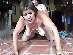 Mature Getting Fucked Good Doggy
