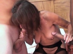 Small Mature And 2 Young Studs With Big Cocks