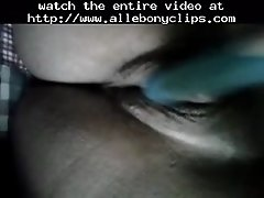 Ebony pussy masterbation close up black ebony cumshots