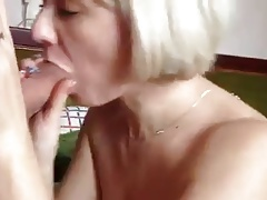 Mature bj no swallow