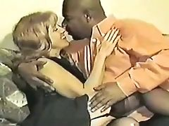 White Wife Satisfies Black Lover