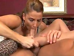 Double Footjob By Milfs