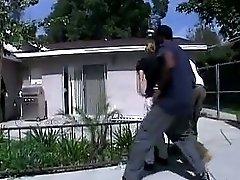 Two Black Cops Fuck Melanie