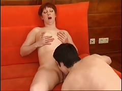 Redhead Mature Perfect Body Getting Laid
