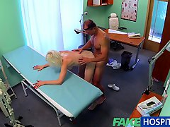 Fakehospital Sexy Horny Blonde MILF Wants Doctors Cum Inside