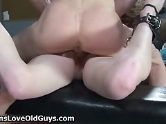 Small Tits Cute Brunette Teen Gets Fucked Hard In The A