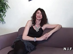 Anal Casting Couch Of A French Mature