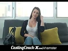 Castingcouch X Cali Coed Tries Porn First Time Vid