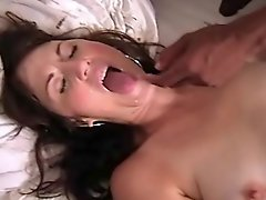 Amateur mature wife fucks a young college BBC