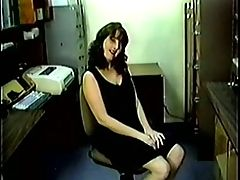 Nice Tits Hairy Puss Secretary Gets Plowed