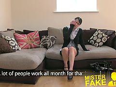 Misterfake Lap Dancer Goes Hardcore In Fake Casting