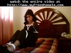 Daniela hogtied bound shemale porn shemales tranny porn