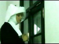 Blond Nun vs Crooked Cock