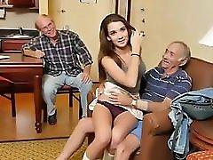 Beautifull Teenager Suck Old Man