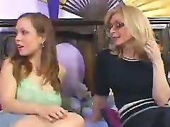 Nina Hartley Fucks Kaylee With Strapon