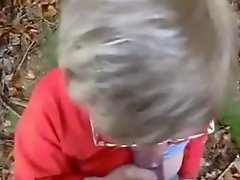 Granny Head #10 Outdoors in the Woods
