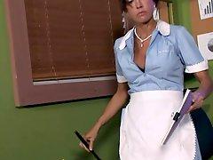 MATURE MILF TRIES TO KEEP HER JOB!