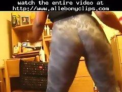 Allebonyporn Teen Booty Shake Black Ebony Cumshots Eb