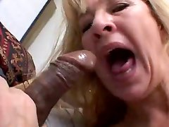 Blond Milf Gets Fucked In All Her Holes