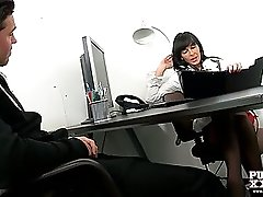 PureXXXFilms Horny Milf Franki gives a lesson
