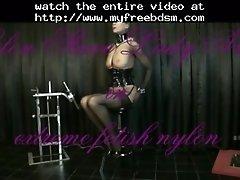 Extreme Nylon Fetish Education BDSM Bondage Slave Femdo