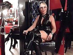 Miss Lady Tina Domina Herrin Strapon Mistress Anal