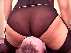 Milf danica's smothersession