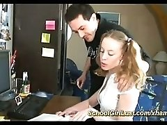 Young French School Girls First Anal