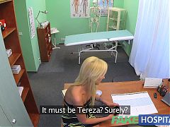 FakeHospital Sexy suspicious doctors wife has hot sex