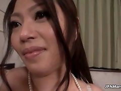 Mature asian slut goes crazy getting her pussy rubbed b