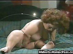 Busty Midget Fucked On A Table