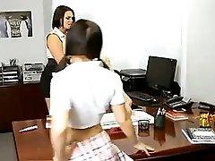 Mom Not Her Step Daughter Seduce Teacher Jk1690