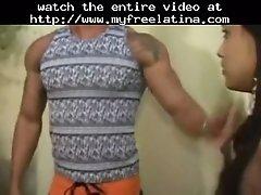 Sexy indian lookalike teen banged infront of hunks lati