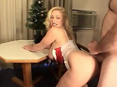 The Hottest Amateur Cougar Mature MILF #20 Xmas Doggystyle