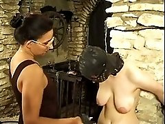 Masked Slut gets tortured by her mistress