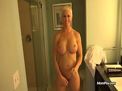 Busty MILF is a true freak