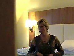 Hidden mast wife in hotel