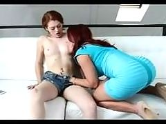 Young And Mature Lesbian Sex
