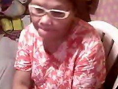 Asian granny Elizabeth 57 yr flashing 6 March 2014