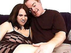 Pregnant Slut Gets Her Fat Pussy Banged