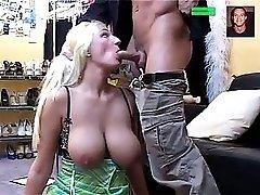 Blonde Babe Fucked Rough