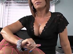 Long Nailed Milf Smokes And Blows