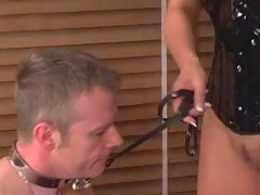 Slave Lick Superior British Mistress