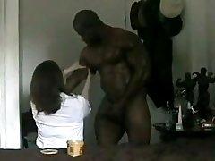Chubby Wife And Incredible Black Hulk F70