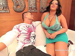 Big Titted Angelina Castro Fucks A Tourist !