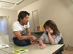 Cute Japanese Girl Getting Fingered