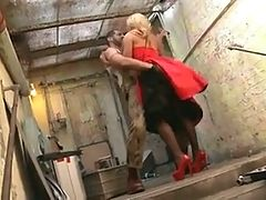 Anal For Blonde In Stockings by TROC