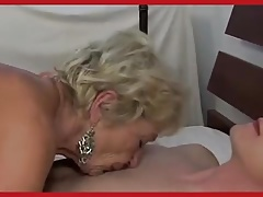 Hot Euro Granny Cougar Gets it Good